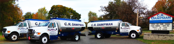C.R. Dampman Fuels Inc two trucks